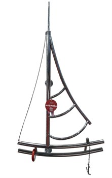 Модель Boat DVEEN (ДВИН) Полотенцесушитель дизайн Boat, труба из нержавеющей стали, водяной - фото 4708