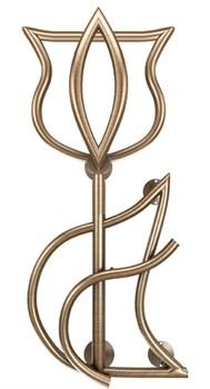 Модель Tulip DVEEN (ДВИН) Полотенцесушитель дизайн Tulip, труба из нержавеющей стали, водяной - фото 4720