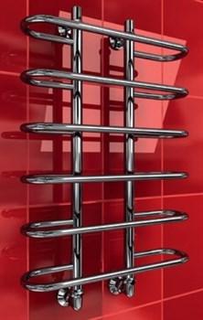 """Лесенка Y 1"""" DVEEN (ДВИН) Полотенцесушитель модель Y, труба из нержавеющей стали, водяной - фото 4729"""