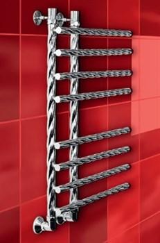 """Лесенка L Braid 1"""" DVEEN (ДВИН) Полотенцесушитель модель L Braid, труба из нержавеющей стали, водяной - фото 4908"""