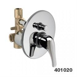 PALAZZANI Proxima встроенный смеситель для ванны и душа в комплекте - фото 6196