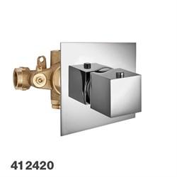 PALAZZANI Track встроенный центральный термостатический смеситель в комплекте - фото 6206