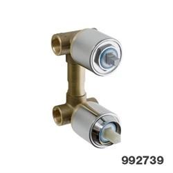 PALAZZANI встроенная часть для смесителя на 2 потребителя - фото 6441