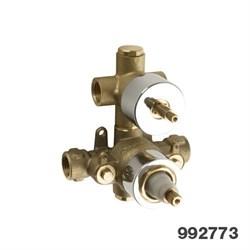 """PALAZZANI встроенная часть для термостатического смесителя на 2 потребителя 1\2"""" - фото 6447"""