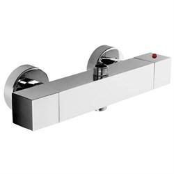 PALAZZANI Track термостатический смеситель для душа на 2 потребителя - фото 6510