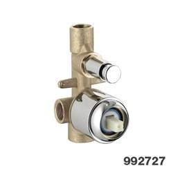 PALAZZANI встроенная часть для смесителя на 2 потребителя - фото 6547