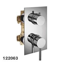PALAZZANI Idrotech встроенный смеситель на 3 потребителя - фото 6844