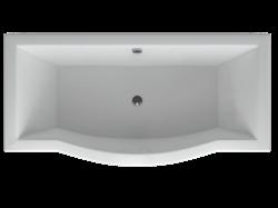 AQUATEK Гелиос Акриловая ванна на каркасе, слив-перелив в комплекте, без панели. - фото 69025