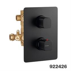 """PALAZZANI Mis встроенный термостатический смеситель на 3 потребителя 1\2"""" - фото 6914"""
