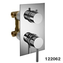 PALAZZANI Idrotech встроенный смеситель для душа на 2 потребителя - фото 6945