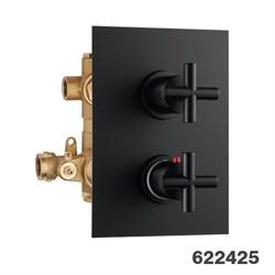 PALAZZANI Formula встроенный термостатический смеситель на 2 потребителя - фото 7280