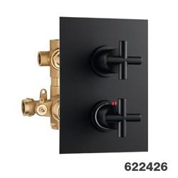 PALAZZANI Formula встроенный термостатический смеситель на 3 потребителя - фото 7284