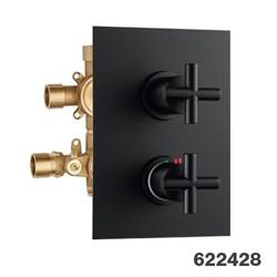 PALAZZANI Formula встроенный термостатический смеситель на 3 потребителя - фото 7288