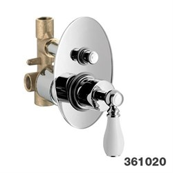 PALAZZANI Adams встроенный смеситель для ванны - фото 7353
