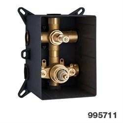 PALAZZANI PBox встроенный термостатический смеситель на 3 потребителя - фото 7753