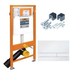 174-91100900-00 Jomo Tech Набор: система инсталляции, крепление, клавиша смыва EXCLUSIVE 2.0 белая - фото 9134