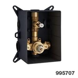 PALAZZANI PBox встроенная часть для термостатического смесителя на 1 потребитель - фото 9741