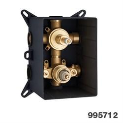 PALAZZANI PBox встроенная часть для термостатического смесителя на 3 потребителя - фото 9751