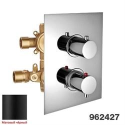 PALAZZANI Digit color, встроенный термостатический смеситель на 2 потребителя - фото 9789
