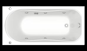 Гидромассажная ванна Bas Верона 150х70