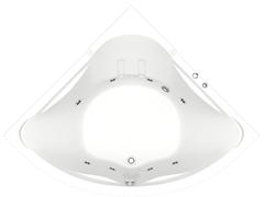Гидромассажная ванна Bas Ирис 150х150
