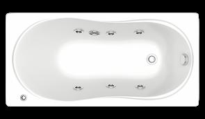 Гидромассажная ванна Bas Лима 130х70