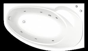 Гидромассажная ванна Bas Фэнтази R 150х88