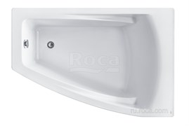 Ванна акриловая Roca Hall Angular 150х100 асимметричная правая белая ZRU9302865