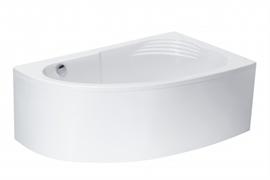 Ванна акриловая Roca Merida 170х100 асимметричная правая белая ZRU9302993
