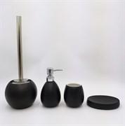 GID Керамический набор для ванной чёрный BL-spray 50, ширина  см
