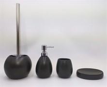 GID Керамический набор для ванной чёрный матовый B-matt 50, ширина  см