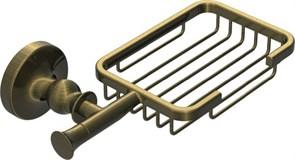 RUSH Crete Мыльница решетка , светлая бронза