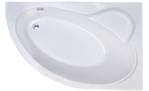ROYAL BATH Alpine 150х100 Акриловая ванна асимметричная, правая