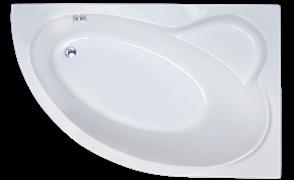 ROYAL BATH Alpine 140х95 Акриловая ванна асимметричная, правая