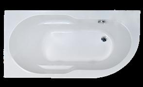 ROYAL BATH Azur 138х79 Акриловая ванна асимметричная, левая