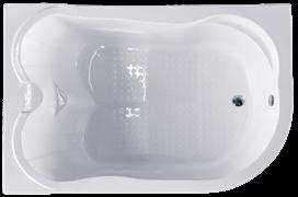 ROYAL BATH Norway 180х120 Акриловая ванна прямоугольная на каркасе, левая