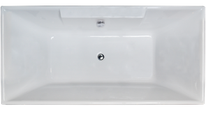 ROYAL BATH Triumph 172х87 Акриловая ванна прямоугольная на каркасе