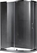 GEMY Sunny Bay 100x90 Душевой уголок, стекло  прозрачное 6 мм, профиль хром