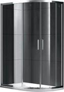 GEMY Victoria 100x90 Душевой уголок, стекло  прозрачное 6 мм, профиль хром