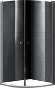 GEMY Rockcoco 80x80 Душевой уголок, стекло  прозрачное 6 мм, профиль хром