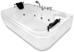 GEMY 180x116 Ванна акриловая гидромассажная, высота 69 см