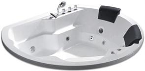 GEMY 185x162 Ванна акриловая гидромассажная, высота 74 см
