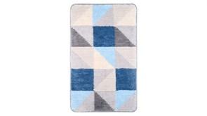 FIXSEN Visa Коврик для ванной, цвет серый / голубой
