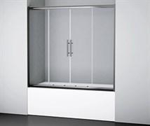 WASSERKRAFT Amper 29S02-170 Стеклянная шторка на ванну, раздвижная, двухстворчатая, ширина 170 см, стекло прозрачное 6 мм