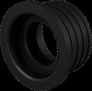 ALCA PLAST Гофрированная прокладка, d 40/32 мм