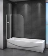 CEZARES RELAX-V-11-L Душевые шторки для ванн складные, стекло 4 мм, левый вариант
