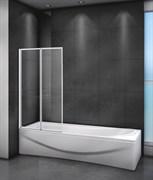 CEZARES RELAX-V-2 Душевые шторки для ванн складные, стекло 4 мм, устанавливается на левую или правую стороны