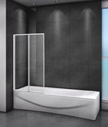 CEZARES RELAX-V-2-L Душевые шторки для ванн складные, стекло 4 мм, левый вариант
