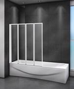 CEZARES RELAX-V-4 Душевые шторки для ванн складные, стекло 4 мм, устанавливается на левую или правую стороны
