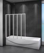 CEZARES RELAX-V-5 Душевые шторки для ванн складные, стекло 4 мм, устанавливается на левую или правую стороны